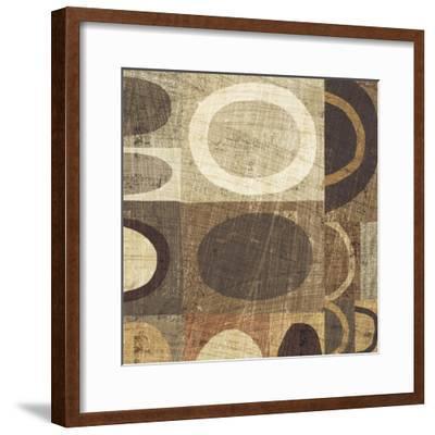Modern Geometric Neutral II-Michael Mullan-Framed Art Print