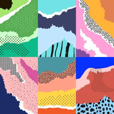 Modern Graphic Design Background-Lera Efremova-Art Print