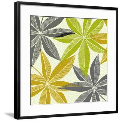 Modern Hawaiian-Modern Tropical-Framed Art Print
