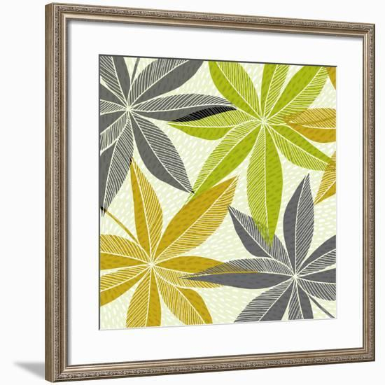 Modern Hawaiian-Modern Tropical-Framed Art Print