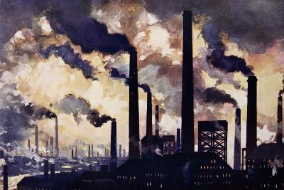 Modern Industrialism--Giclee Print