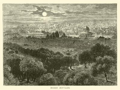 Modern Jerusalem--Giclee Print