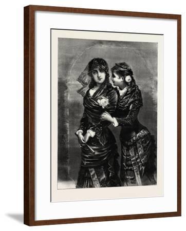 Modern, Ladies, Woman, Girl, Fashion, 1882--Framed Giclee Print