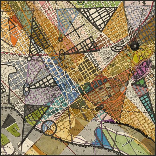 Modern Map of D.C. Art Print by Nikki Galapon | Art.com on austin map art, toronto map art, south dakota map art, sf map art, wv map art, idaho map art, tennessee map art, massachusetts map art, arkansas map art, virginia map art, colorado map art, new jersey map art, nebraska map art, az map art, wisconsin map art, baltimore map art, atlanta map art, mississippi map art, la map art, sc map art,