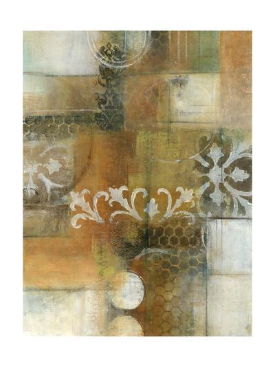 Modern Note II-W^ Green-Aldridge-Art Print
