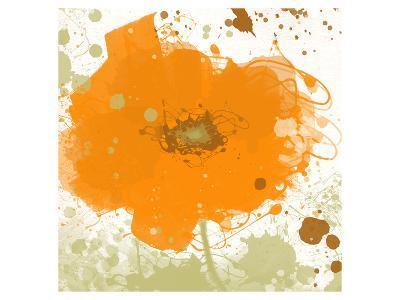 Modern Orange-Irena Orlov-Art Print