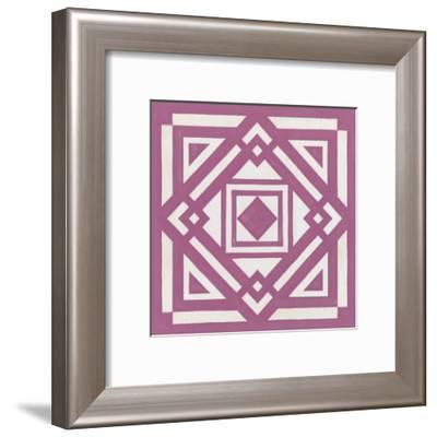 Modern Quilt VI-Erica J^ Vess-Framed Art Print