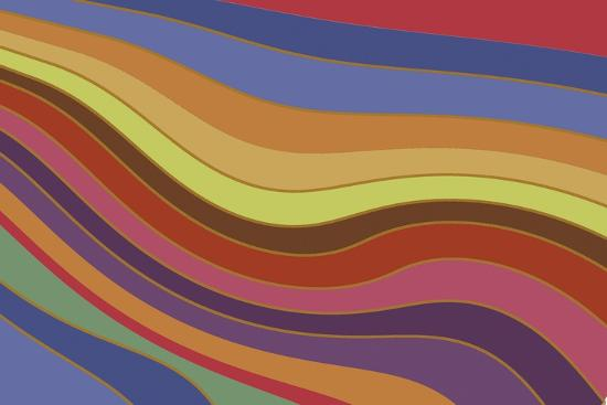 Modern Rainbow-Maria Trad-Giclee Print