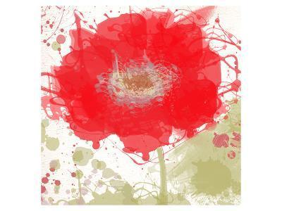 Modern Red-Irena Orlov-Art Print