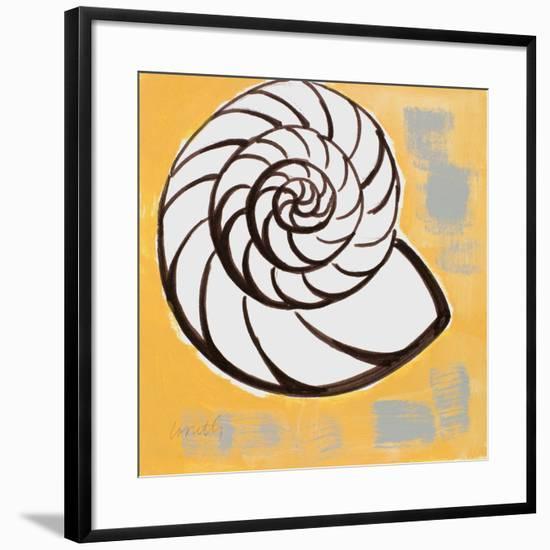 Modern Shell III-Lanie Loreth-Framed Art Print