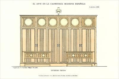 Modern Spanish Carpentry--Art Print