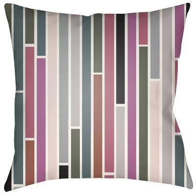 Modern Subway Pillow - Dusty Rose--Home Accessories