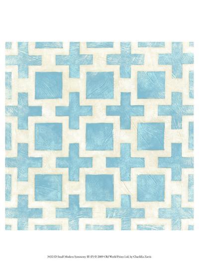Modern Symmetry III-Chariklia Zarris-Art Print