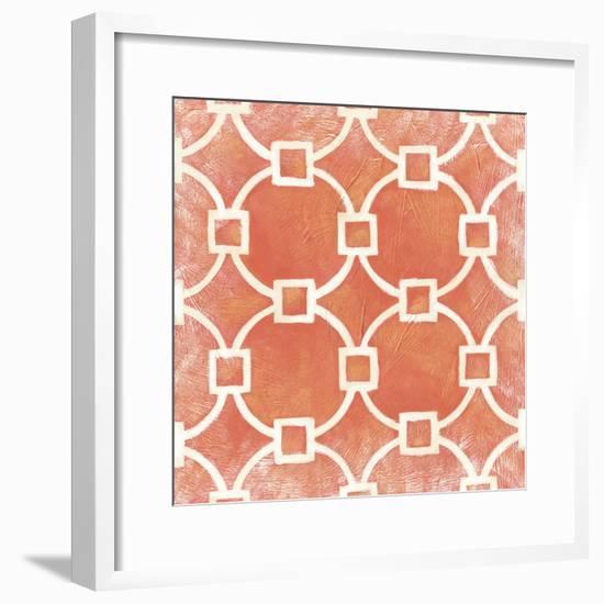 Modern Symmetry VIII-Chariklia Zarris-Framed Premium Giclee Print