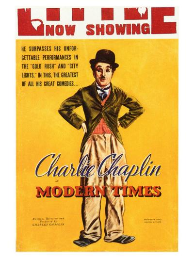 Modern Times, 1936--Art Print