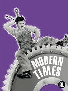 Modern Times, Belgian Movie Poster, 1936