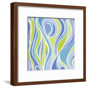 Absinthe Abstract by Modern Tropical