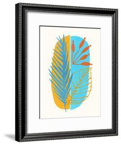 Beach Flora Abstract by Modern Tropical