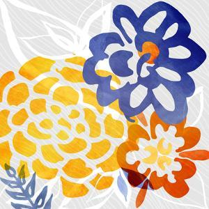 Bright Floral Abstract by Modern Tropical