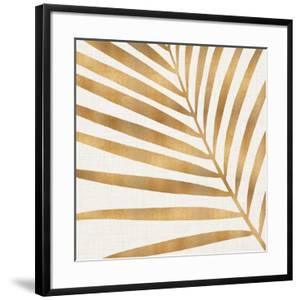 Gold Palm Leaf by Modern Tropical