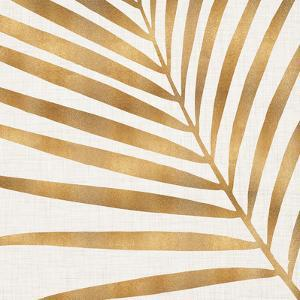 Gold Palm Leaf by Modern Tropical