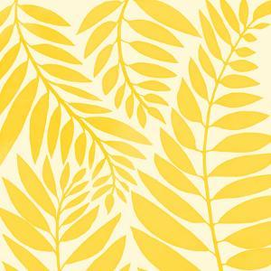 Golden Yellow Leaves by Modern Tropical
