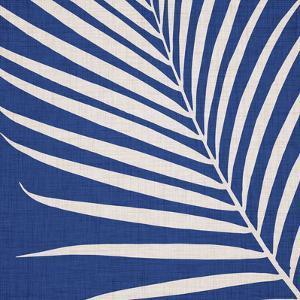 Indigo Palm Leaf by Modern Tropical