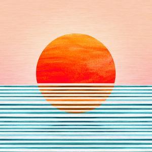 Minimal Sunrise I by Modern Tropical