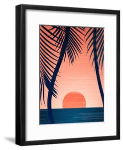 Peace And Palms by Modern Tropical