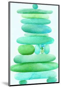 Sea Glass Cairn by Modern Tropical