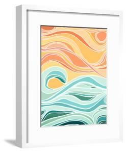 Sky And Sea by Modern Tropical