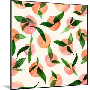 Summer Fruit Pattern by Modern Tropical