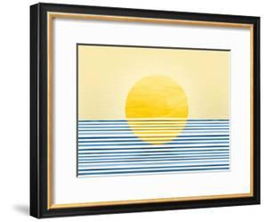 Sunrise Abstract by Modern Tropical