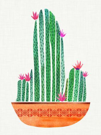 Tiny Cactus Blossoms