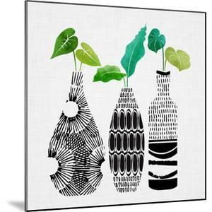 Tribal Vase Trio by Modern Tropical