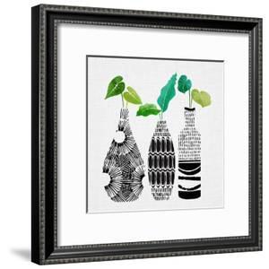 Tribal Vase Trio by Modern Tropical