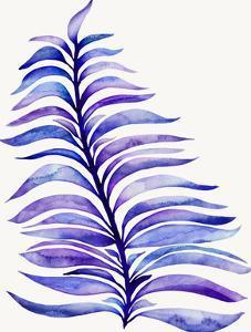 Violet Royal Fern by Modern Tropical