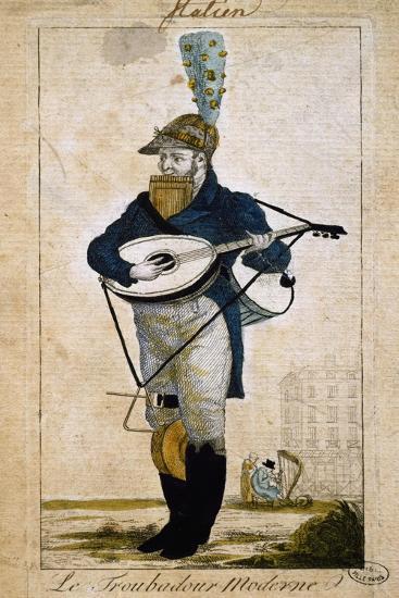Modern Troubadour, France--Giclee Print