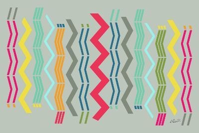 Modern Zigzags-Ruth Palmer-Art Print