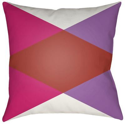 Moderne Diamond Pillow - Red