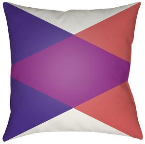 Moderne Diamond Pillow - Violet
