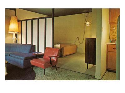 Moderne Motel Suite--Art Print