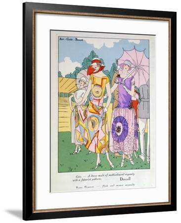 Modes of the Moment--Framed Giclee Print