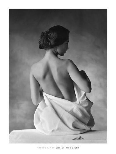Modesty-Christian Coigny-Art Print