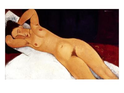 Modigliani: Nude, 1917-Amedeo Modigliani-Giclee Print