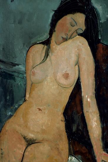 Modigliani: Nude, C1917-Amedeo Modigliani-Giclee Print