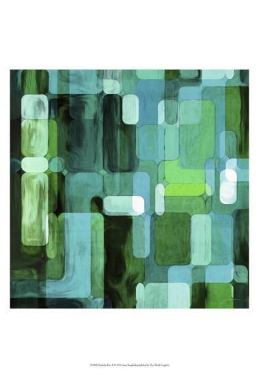 Modular Tiles II-James Burghardt-Art Print
