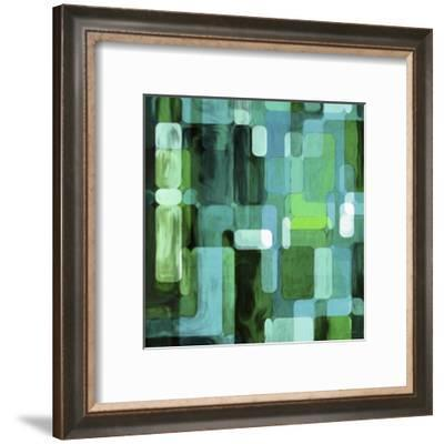 Modular Tiles II-James Burghardt-Framed Art Print