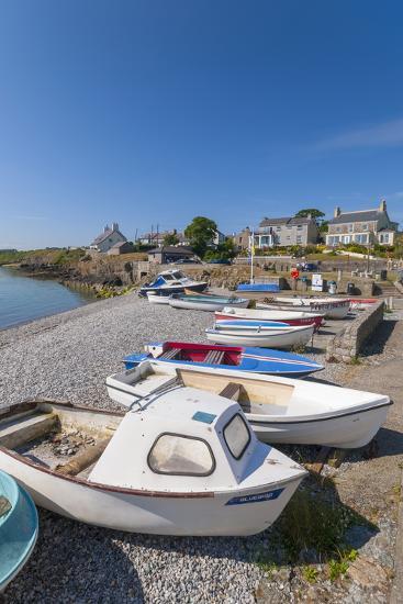 Moelfre, Anglesey, Gwynedd, Wales, United Kingdom, Europe-Alan Copson-Photographic Print