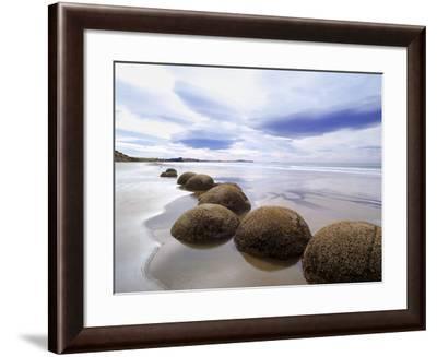 Moeraki Boulders #3, New Zealand 98-Monte Nagler-Framed Photographic Print